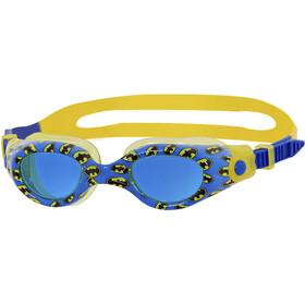 Zoggs Batman Lapset uimalasit , keltainen/sininen